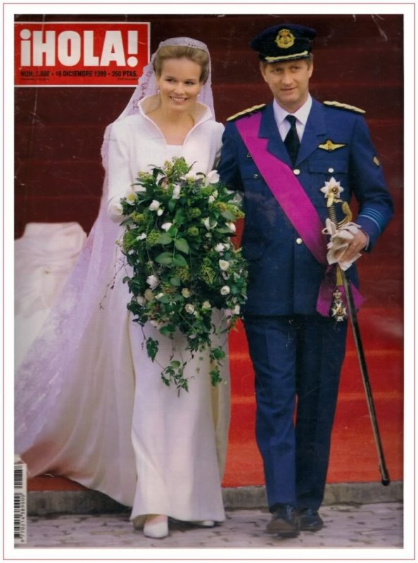 The Wedding Dress - Countess Mathilde d'Udeken d'Acoz _ Crown Princess of Belgium - SUITE