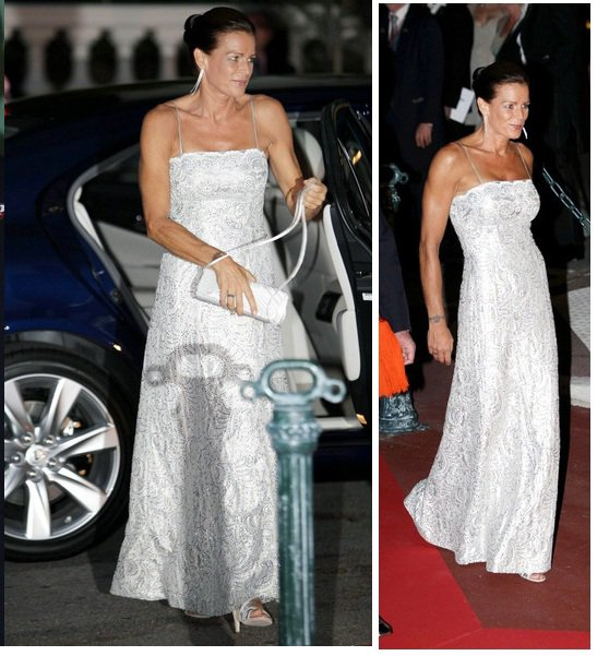 The Style Dress &  Wedding Dress - Princess Stéphanie of Monaco _