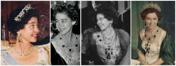 the Greek Emerald Parure Tiara _