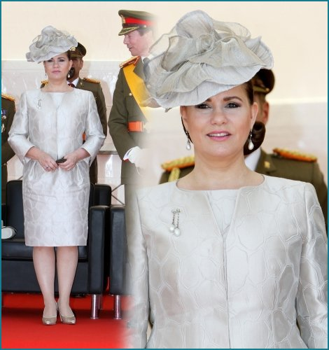 The Style Dress - Maria Theresa _  GRAND -DUCHESS OF LUXEMBOURG