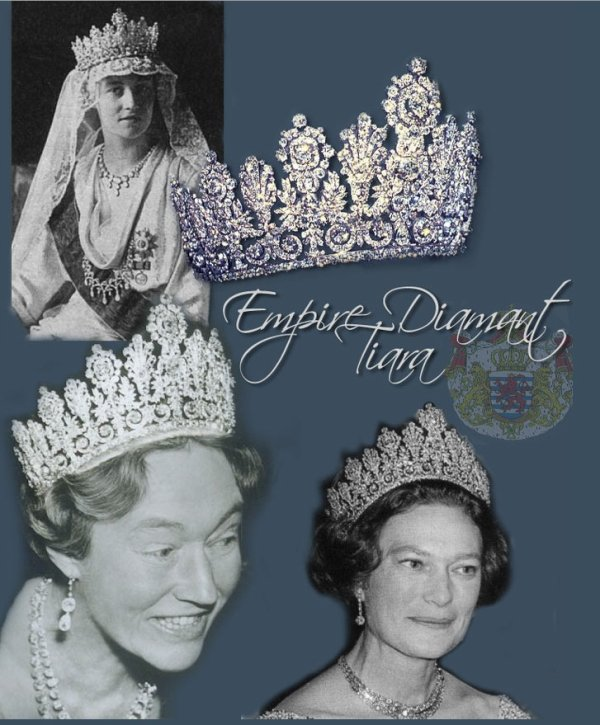 The Luxembourg Empire Tiara