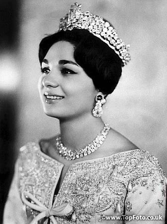 """The Wedding Dress - Farah Diba _ Queen of Iran """" Suite """""""