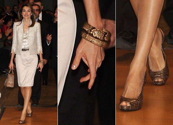 Crown Princess Letizia of Asturias - Accesssoires _ Suite