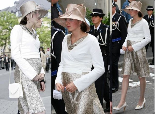 The Style Dress - Princess Tessy of Luxembourg