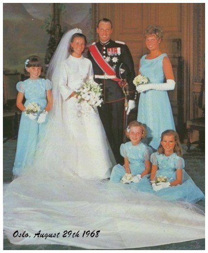 The Wedding Dress - Queen Sonja of Norway _ Suite