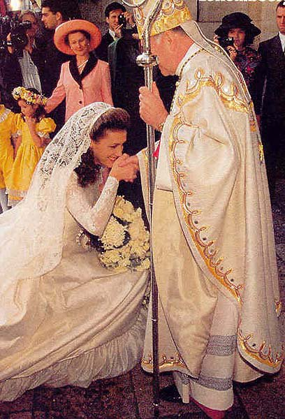 The Wedding Dress - Sibilla Weiller _ Princess of Luxembourg   * SUITE *