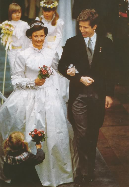 The Wedding Dress - Princess Margaretha of Luxembourg _ Suite