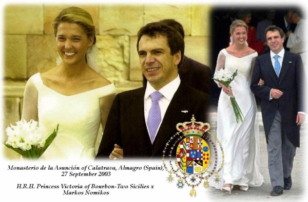 The Wedding Dress -  Princess Victoria of Bourbon- Two  Sicilies