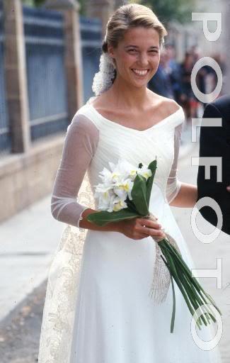 The Wedding Dress -  Princess Victoria of Bourbon- Two  Sicilies