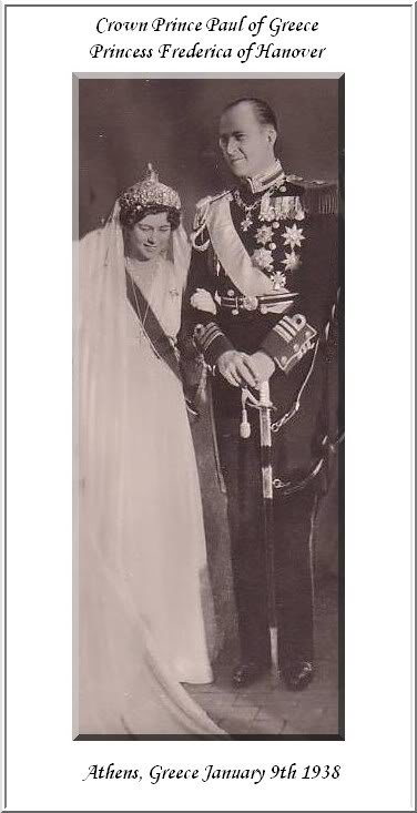 The Wedding Dress - Princess Frédérica of Hanover _