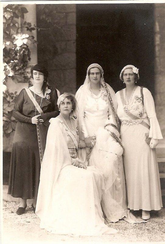 History Wedding Dress - Princess Ileana of Romania