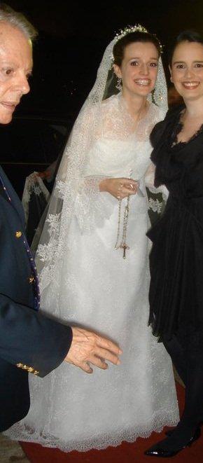 The Wedding Dress  - Princess Isabel d ' Orléans - Bragance