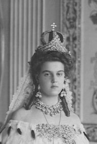 History Wedding Dress - Grand Duchess Maria Pavlovna of Russia