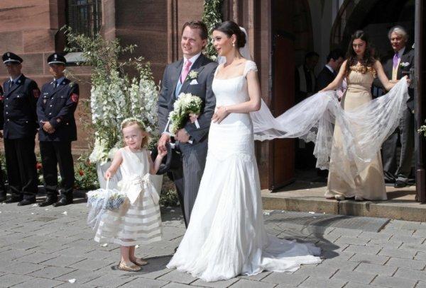 Royal Wedding Dress 2012 _ Melissa Eliyesil  Grafin  von Faber-Castell
