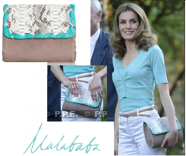 Crown Princess Letizia of Asturias - Accesssoires _ Suite