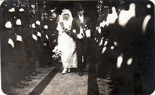 History Wedding Dress - Princess Hilda of Luxembourg