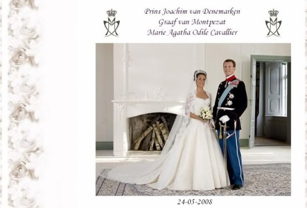 The Wedding Dress - Marie Agathe Odile Cavallier _ Princess of Denmark   SUITE