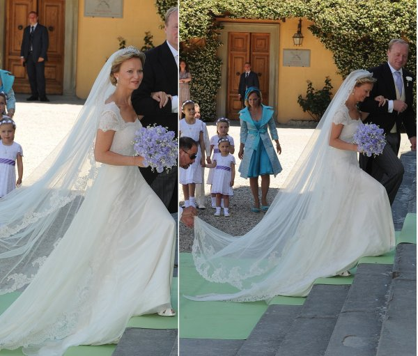Royal Wedding Dress 2012 _ Princess Carolina de Bourbon de Parme