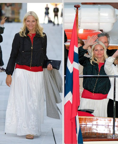 The Style Dress - Princess Mette-Marit, Crown Princess of Norway _ SUITE