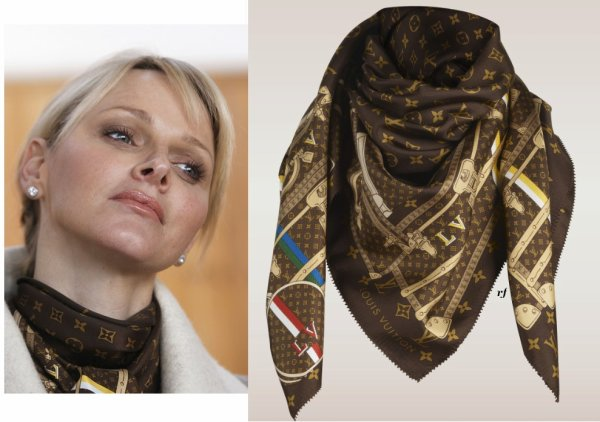 Princess Charlene of Monaco  - Accessoires