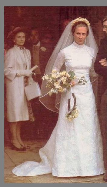The Wedding Dress - Birgitte Eva Van Deurs _ Duchess of Gloucester