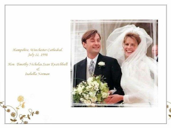 The Wedding Dress - Isabella Julia Norman _The Honourable  Knatchbull