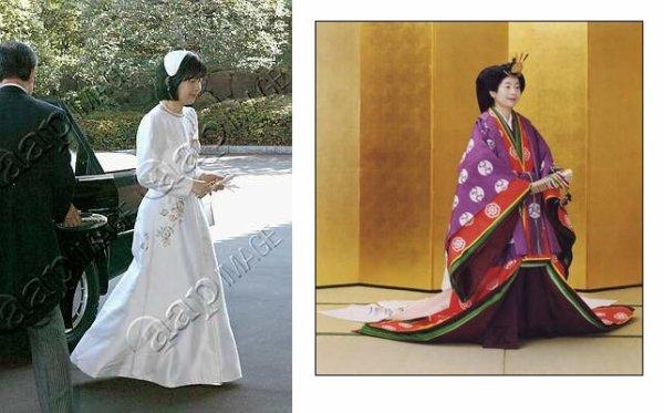 The Wedding Dress - Princess  Sayako of Japan