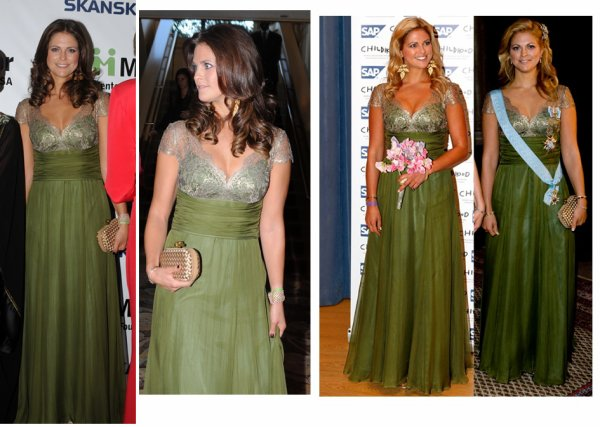 The Style Dress - Princess Madeleine of Sweden _ SUITE