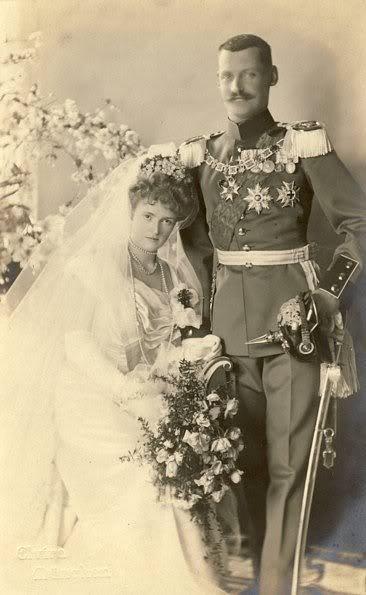 History Wedding Dress -Duchess Marie-Gabrielle in Bavaria