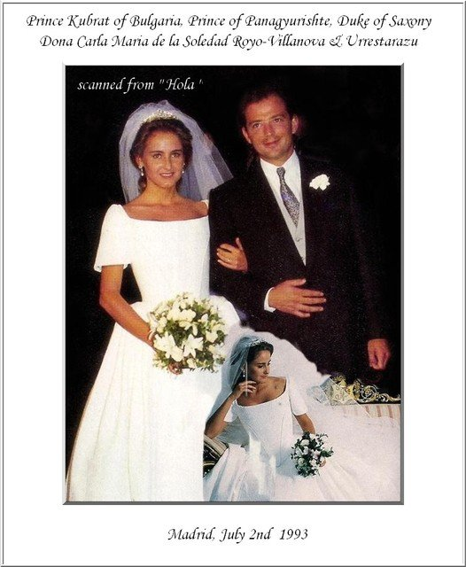The Wedding Dress -Carla Royo-Villanova _  Princess  of Bulgaria