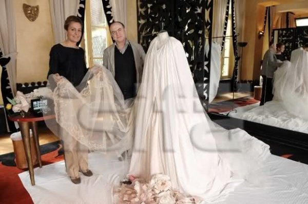 The Wedding Dress - Philomena of Tornos and Steinhart _ Princess of Orléans