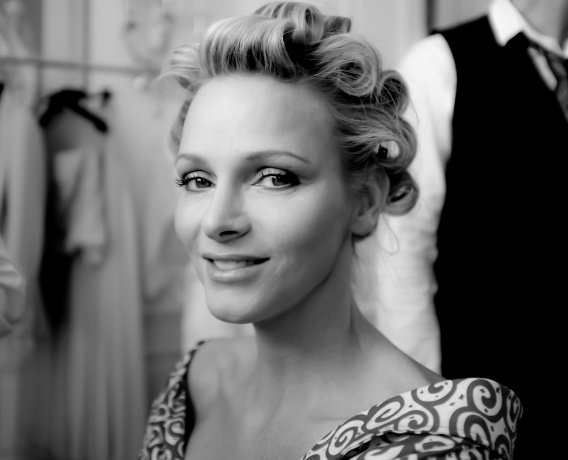 The Wedding Dress - Charlene Wittstock  _ Princess of Monaco