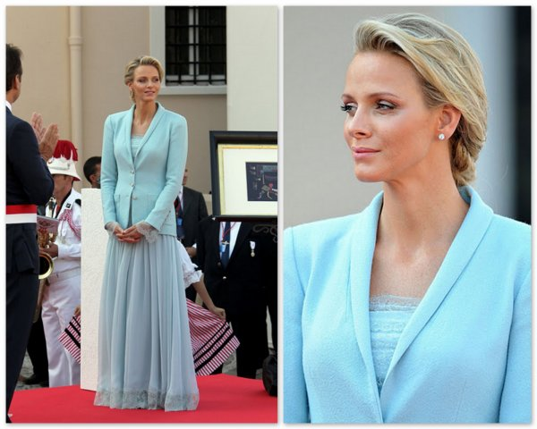 The Wedding Dress - Charlene Wittstock _ Princess of Monaco  / Suite