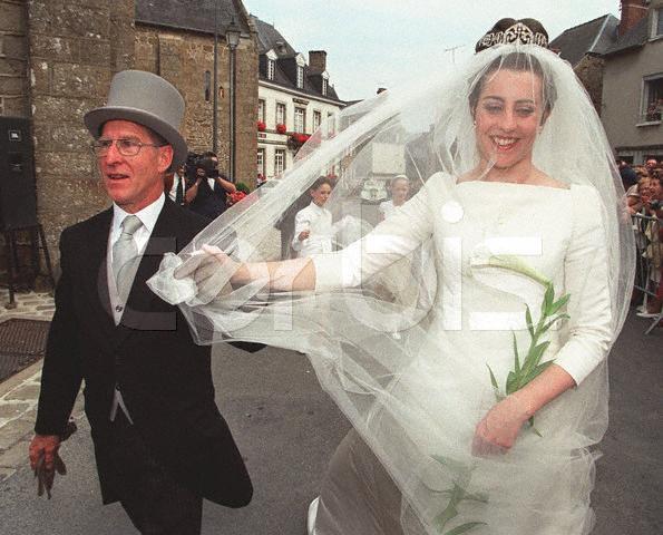 The Wedding Dress -Marie-Liesse de Rohan-Chabot _Princess of France