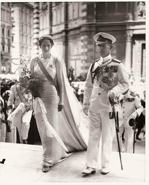 History Wedding Dress - Princess Irene of Greece and Denmark _ Duchess of Aosta