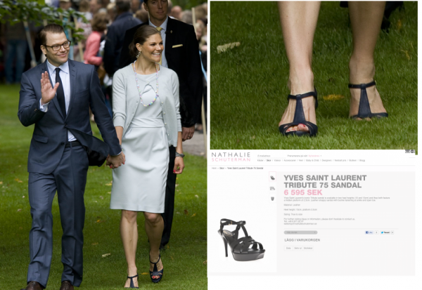 Crown Princess Victoria of Sweden - Accessoire