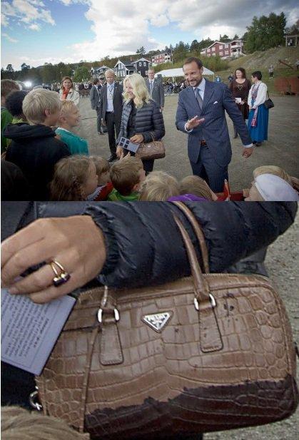 Princess Mette-Marit, Crown Princess of Norway - Accessoires