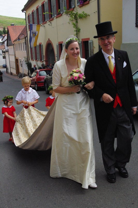 Royal Wedding Dress 2012 _ Marie-Anna Princess of Salm-Salm