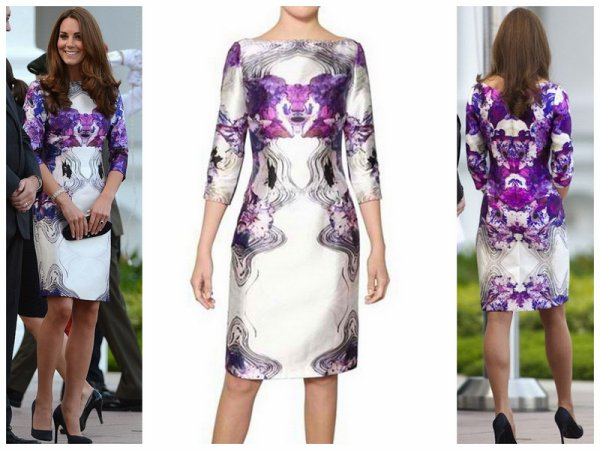 The Style Dress - Catherine Duchess of Cambridge_ Tour of the Asia Pacific