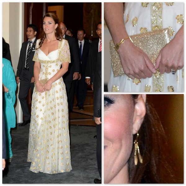 Catherine Duchess of Cambridge - Accessoires _ Tour of the Asia Pacific