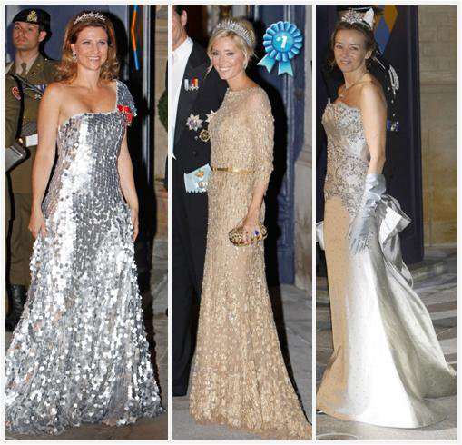 Royal Dress : The Pre-Wedding Gala Luxembourg _ Suite