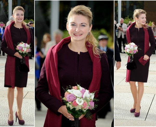The Style Dress -  Princess Stéphanie  of Luxembourg