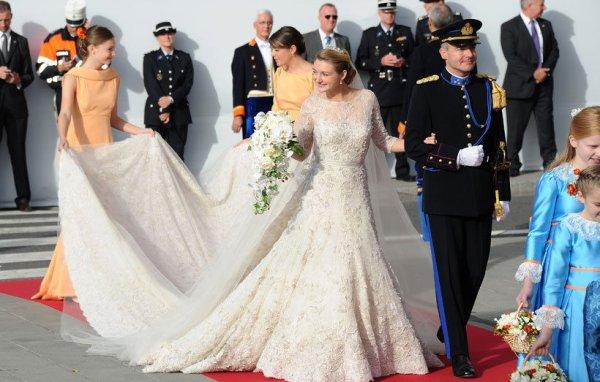 Royal Wedding Dress 2012 _  Countess Stéphanie de Lannoy