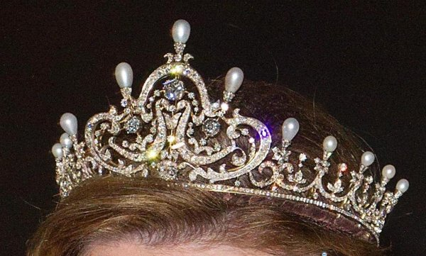 Royal Tiara : The Pre-Wedding Gala Luxembourg _ Suite