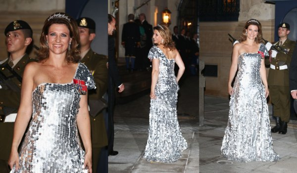 The Style Dress -Princess Martha Louise  of Norway _ Suite
