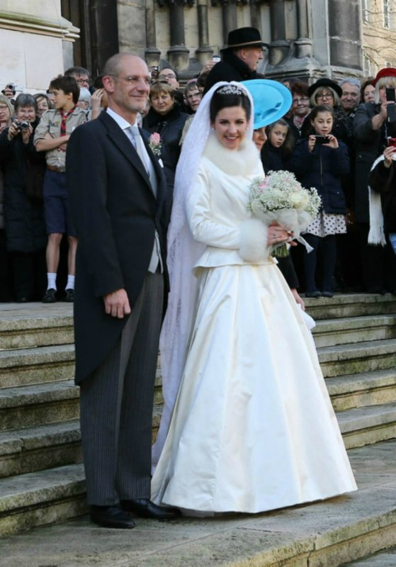 Royal Wedding Dress 2012 _ Mademoiselle Adelaide Drapé-Frisch