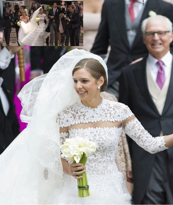 Royal Wedding Dress 2013 - Jacqueline-Ariadne Desmarais