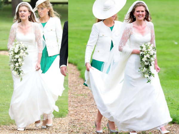 Royal Wedding Dress 2013 - lady Laura Marsham