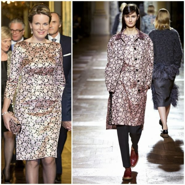 The Style Dress - Queen  Mathilde of Belgium