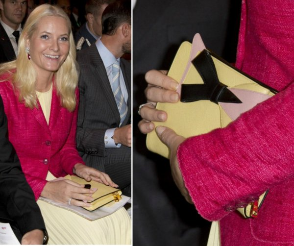 Princess Mette-Marit, Crown Princess of Norway - Accessoires _ Suite